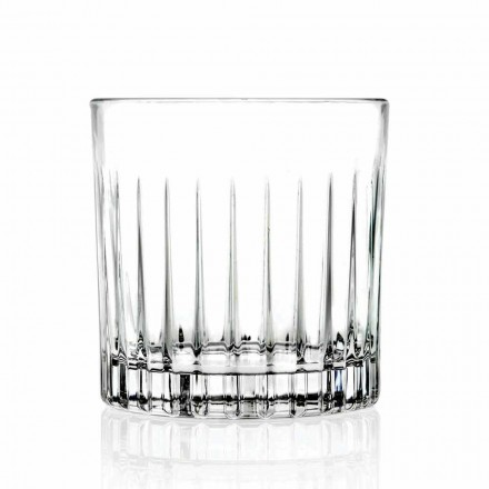 Verres Bas Double Old Fashioned Tumbler 12 Pièces Luxe - Senzatempo