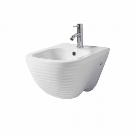 Bidet suspendu design en céramique Made in Italy Trabia