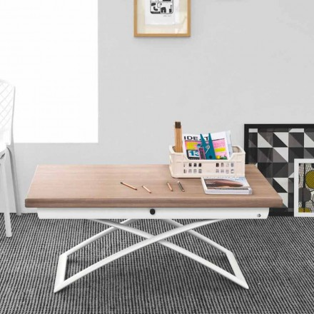 Connubia Calligaris Magic-J table basse extensible moderne en bois