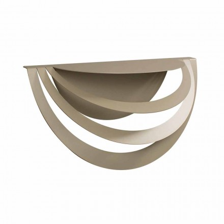 Console suspendue en fer pour un design moderne Made in Italy - Olfeo