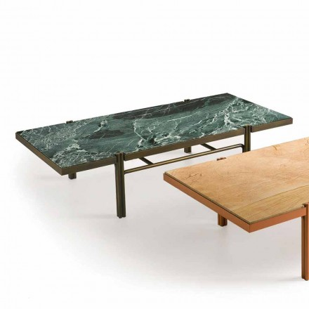 Fratelli Boffi Mathilde table basse design de luxe, dessus en marbre