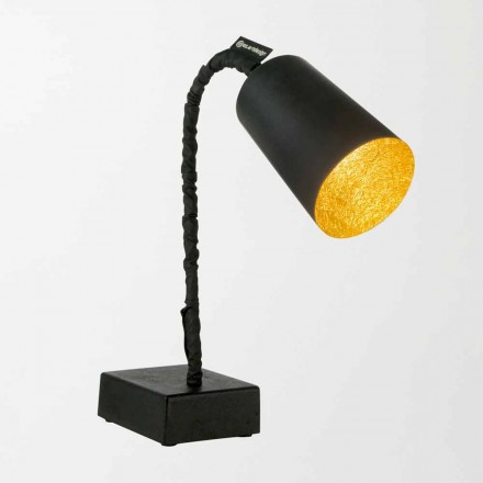 Lampe de table In-es.artdesign Paint T2 tableau noir tige flexible
