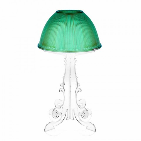 Lampe de table / liseuse Liberty avec base en plexiglas Caneva