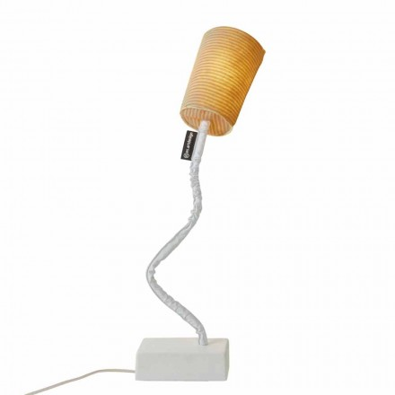 Lampe de table moderne In-es.artdesign Paint T Stripe en laine