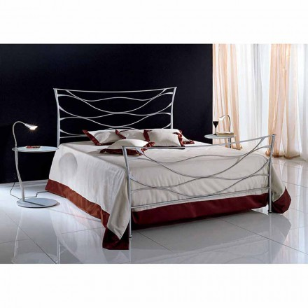 lit deux personnes en fer forg idra fait la main en italie. Black Bedroom Furniture Sets. Home Design Ideas