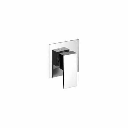 Mitigeur de douche encastrable en laiton design Made in Italy - Panela