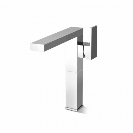 Mitigeur lavabo à bec long 20cm rallonge laiton Made in Italy - Panela