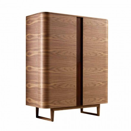 Meuble bar de design Grilli York deux portes de design moderne