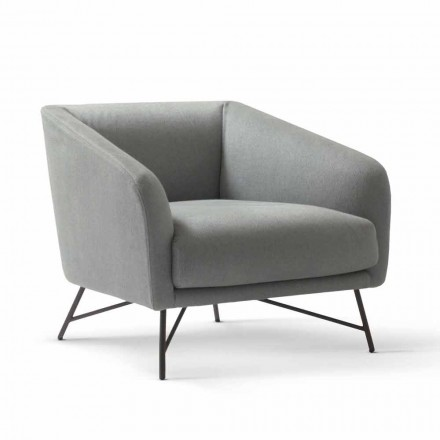 Fauteuil de design moderne en tissu My Home Betty made in italy