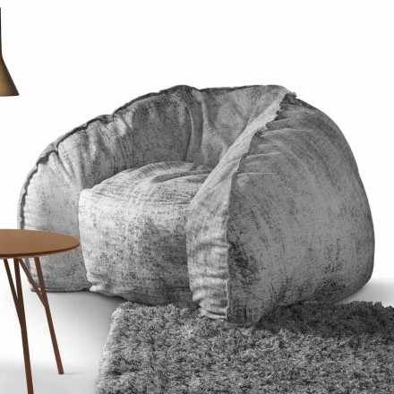 Fauteuil de design en cuir rembourré My Home Hug made in Italy