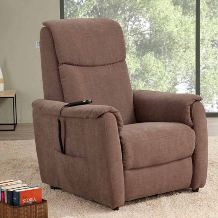 Fauteuil inclinable Eletric, moteur simple, Via Milano