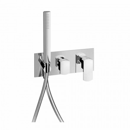 Mitigeur de douche design avec inverseur 3 voies Made in Italy - Sika