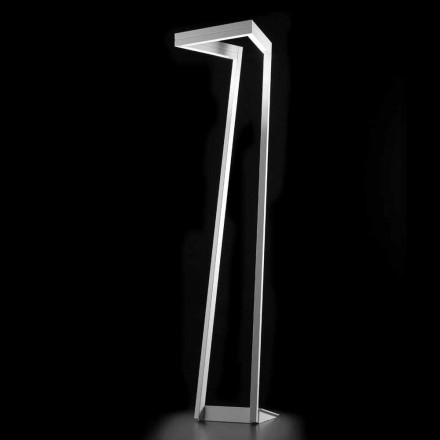 Selene My Way lampe au sol à led blanche 40x40 H 180 cm, made in Italy