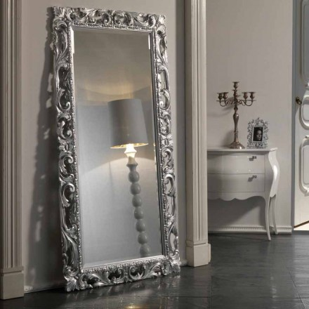 Miroir de Terre/Mur de Design Baroque en Polyuréthane Made in Italy – Pilly