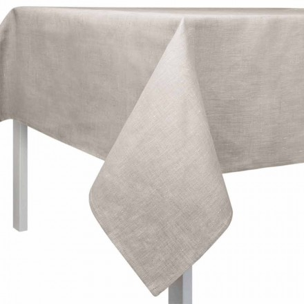 Nappe rectangulaire ou carrée de couleur naturelle Made in Italy - Blessy