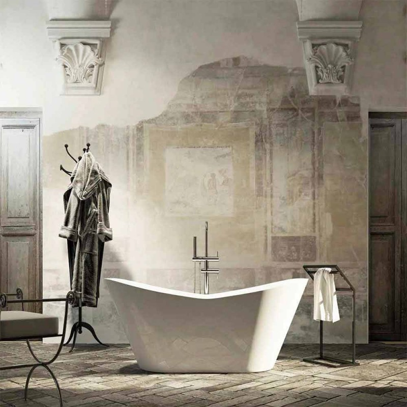 Baignoire design moderne autoportante made in Italy Ragusa