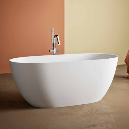 Bagnoire Ilot, Made in Italy, en Solid Surface – Flow